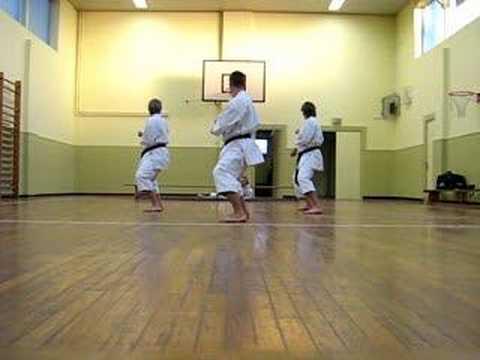 Kata Team Bassai Wado Ryu