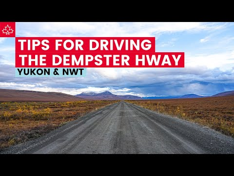 Seven Tips For Driving the Dempster Highway to the Arctic!