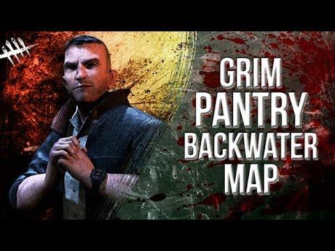 Grim Pantry Backwater Map - Dead by Daylight - Survivor #114 David King