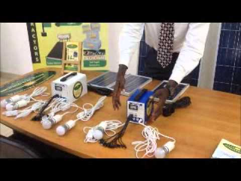 Helvetic Solar Contractors Rural Solar Kit Launch - Swahili -.wmv