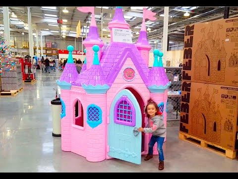Thumbnail: Disney Princess Play Castle Toys / Fun in the Store