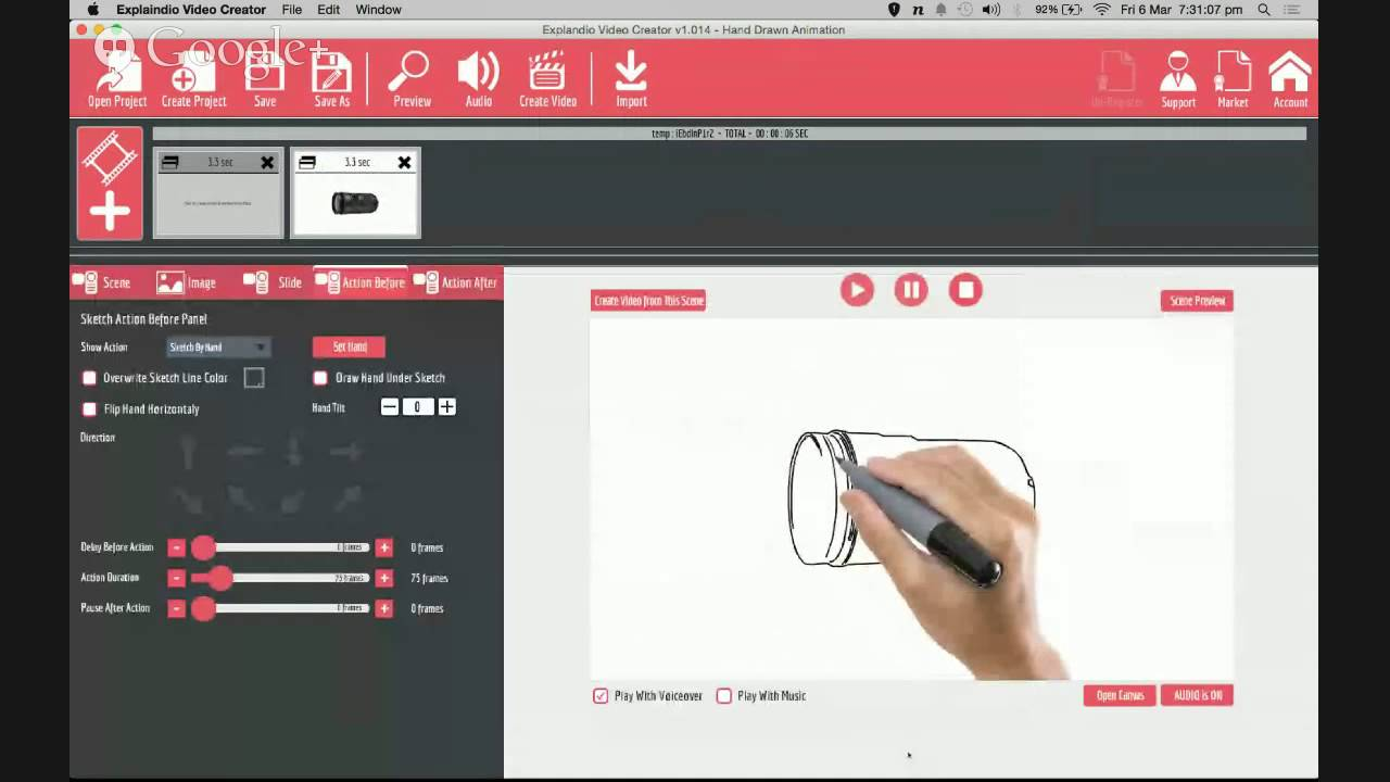 How to Create a Hand-drawing Whiteboard Doodle Animation