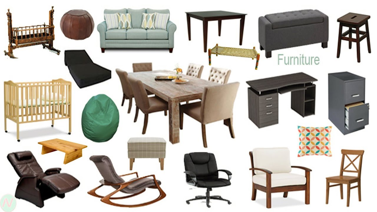 Furniture Names Meaning Picture Furniture Vocabulary