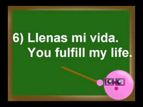 Spanish lesson: Romantic Phrases