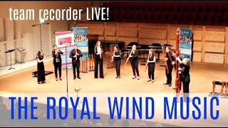 Performing with THE ROYAL WIND MUSIC! | Team Recorder LIVE