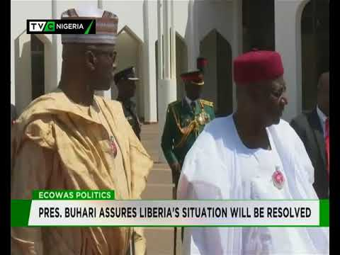 Buhari assures Liberia Political crisis will be resolved