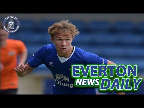 Dowell Signs New Deal   Everton News Daily