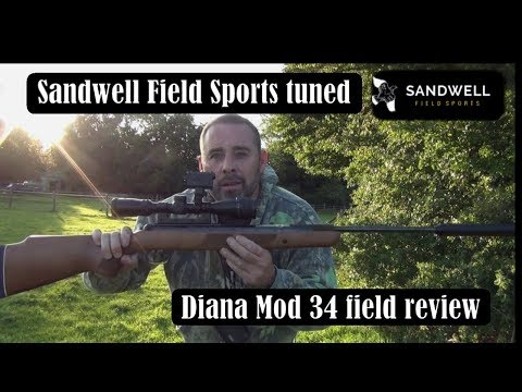 The Sandwell Field Sports Tuned Diana Mod 34 in field review (HD)