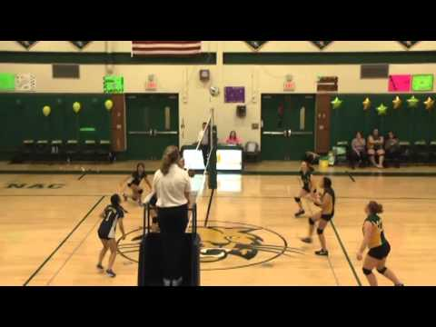 NAC - Lake Placid JV Volleyball 10-19-15