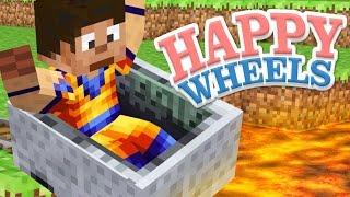 Happy Wheels - MINECRAFT LEVELS - Part 5