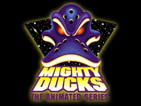 """Tim Curry and Tony Jay in """"Mighty Ducks: The Animated Series"""""""