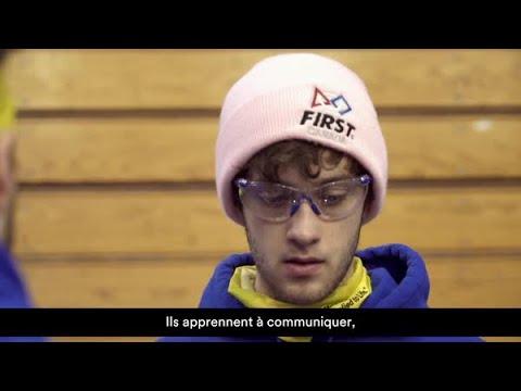 Compétition FIRST Robotics : Offrir un avenir prometteur.