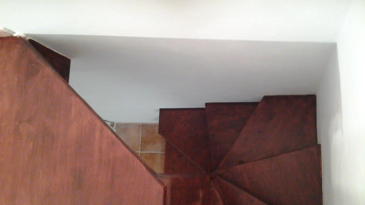 Trasformare scala chiocciola in ferro rotonda e scomoda in - Costruire scala interna ...