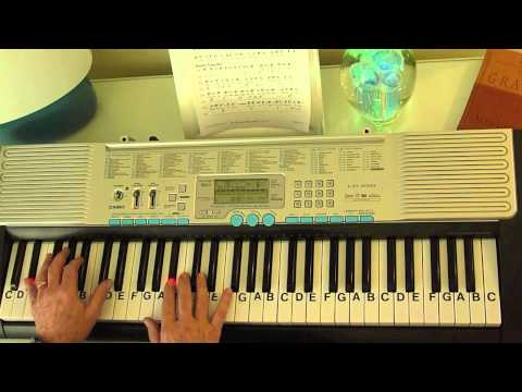 How to Play ~ The Army Song - The Army Goes Rolling Along ~ LetterNotePlayer ©