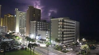 Myrtle Beach Weather, Thunderstorm in Myrtle Beach, South Carolina