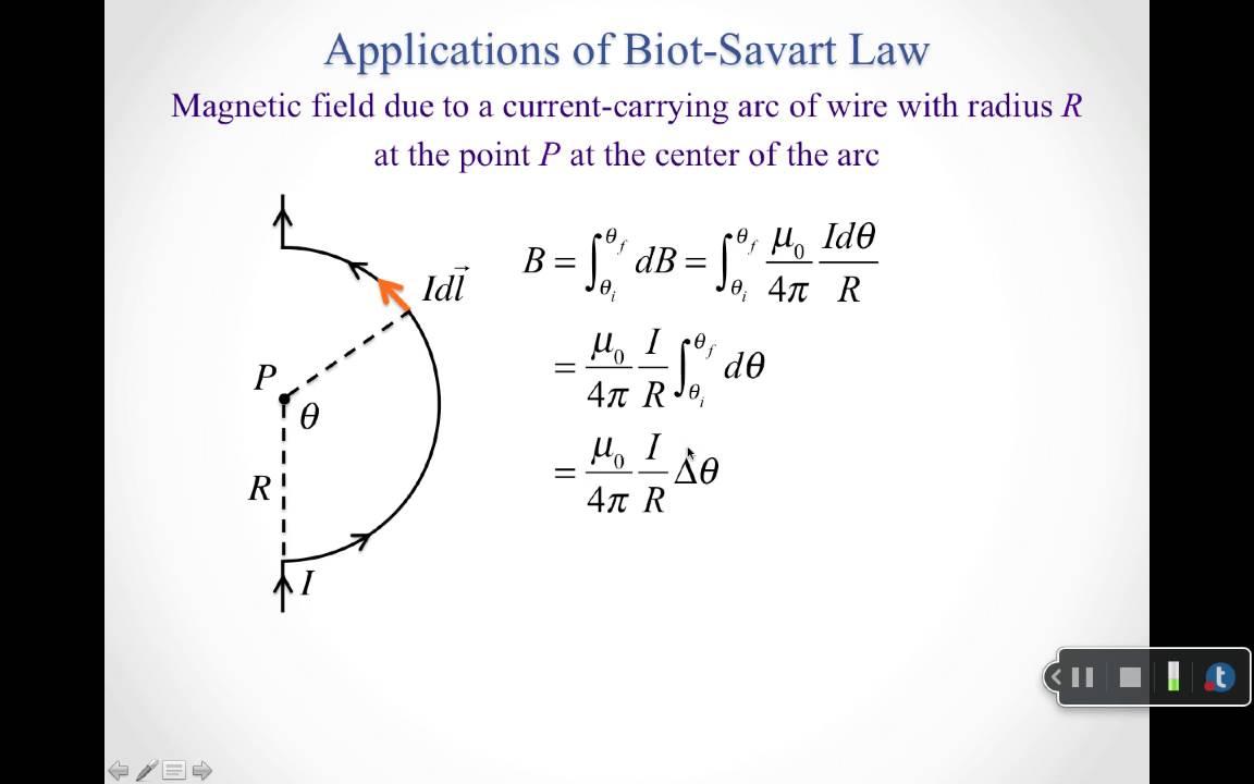 Application Of Biot Savart Law