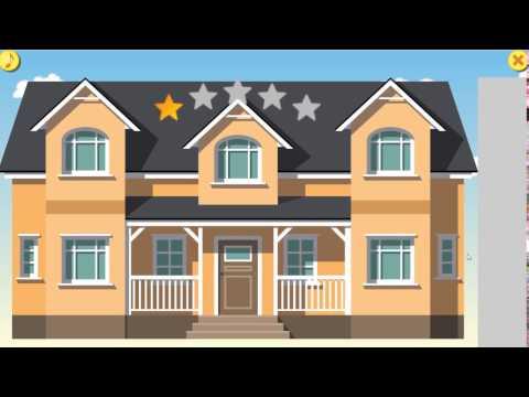 Геймплей игры Архитектор. Построй свой дом 3-я улица.
