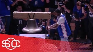 How Meek Mill helped 76ers find their identity with Liberty Bell ritual | SportsCenter | ESPN