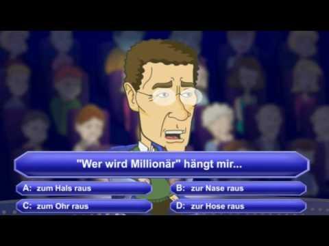 Lustige wer wird millionär fragen