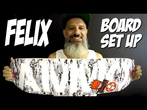 FELIX - BOARD SET UP & INTERVIEW