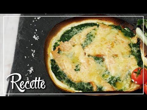 recette-|-pizza-saumon-Épinards