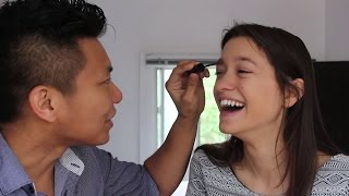 Jay Does My Makeup  Makeup challenge AMWF