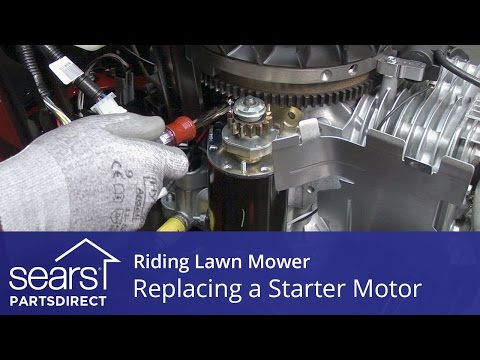 how to fix lawn mower solenoid