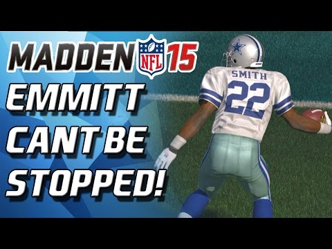 Madden 15 Ultimate Team - EMMITT SMITH BUSTING LOOSE! CANT BE STOPPED! - MUT 15