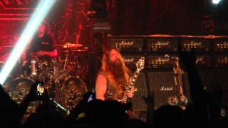 Black Label Society - Damn The Flood -Marathon Music Works - Nashville, TN 4-26-2014