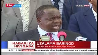 Matiang'i akutana na viongozi kuhusu usalama katika maeneo yaliyo na utata wa usalama
