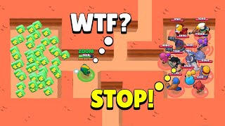 WTF?! ULTIMATE LUCKY!!! BRAWL STARS Funny Moments