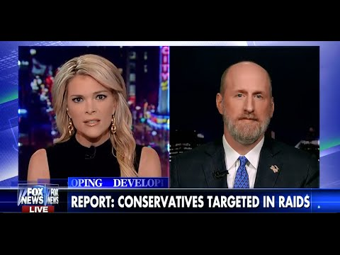• Wisconsin DA Orchestrated Home Raids on Conservative Advocates • Kelly File • 4/22/15 •