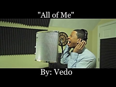 "John Legend - All of Me ""Cover"" By: @VedoTheSinger"