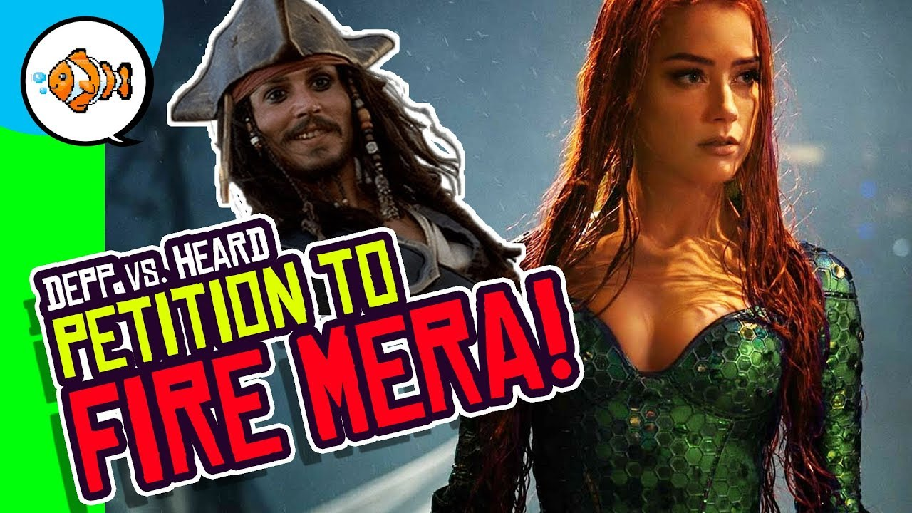 Johnny Depp vs. Amber Heard: Petition to FIRE Mera from ...