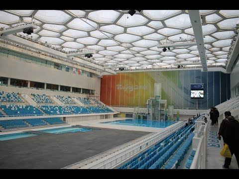 Beijing National Aquatics Center or Water Cube / 北京国家游泳中心 / 水立方 (Slideshow)