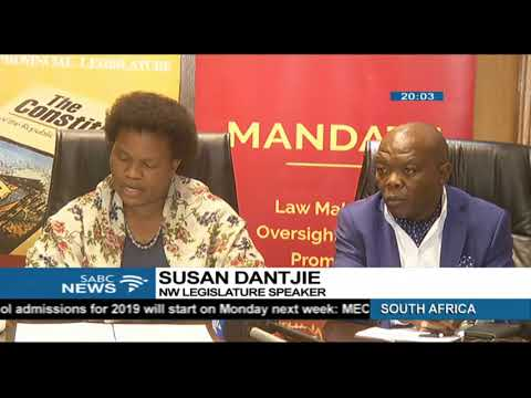 955973b56014 Motion of no confidence in Mahumapelo will be open ballot - YouTube