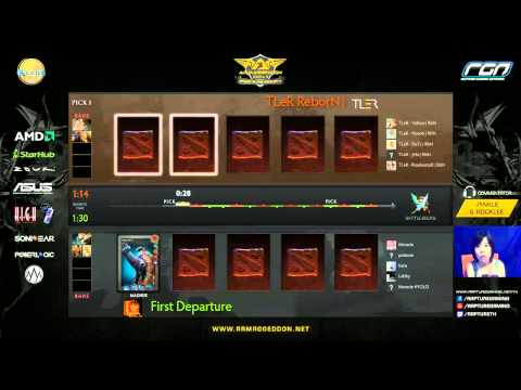 Armargeddon DOTA2 Grand Slam Asia 2013 Grand Final - TLer Reborn (Indonesia) vs First Departure (Sin