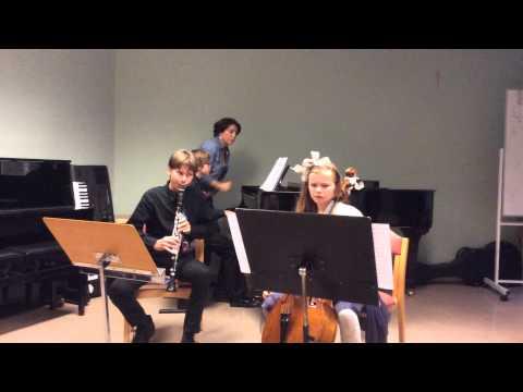 DNB-trio: L. Beethoven Opus 11: Trio for Piano, Clarinet and Cello
