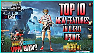 0.13.0 PUBG MOBILE UPDATE - NEW MAP, GODZILLA THEME AND NEW FEATURES