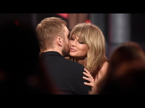 Taylor Swift Kysser Calvin Harris På Billboard Awards