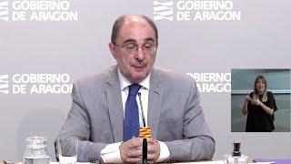 """Lambán considera que el reparto de 16.000 millones a las CCAA es """"injusto"""""""