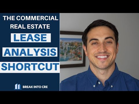 Commercial Real Estate Lease Analysis Breakdown - What You Need To Know