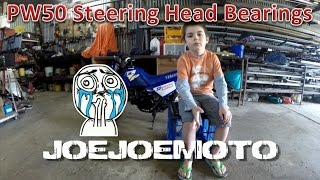 How To: PW50 Steering Head Bearing Replacement