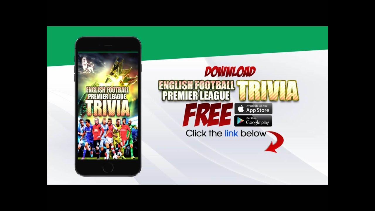 True Or False Quiz com Presents English Premier League Trivia Quiz
