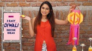 DIY 3 Easy Diwali Decor Ideas | Hauterfly