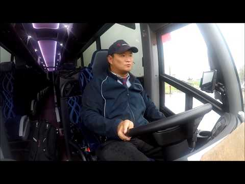Motor Coach Vlog Fighting Illini Foot Ball team |