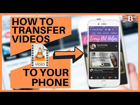 How To Transfer Videos/Movies To Phone Or IPad (2019)