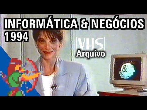 Informática & Negócios (TV Manchete) - Eric Fraga