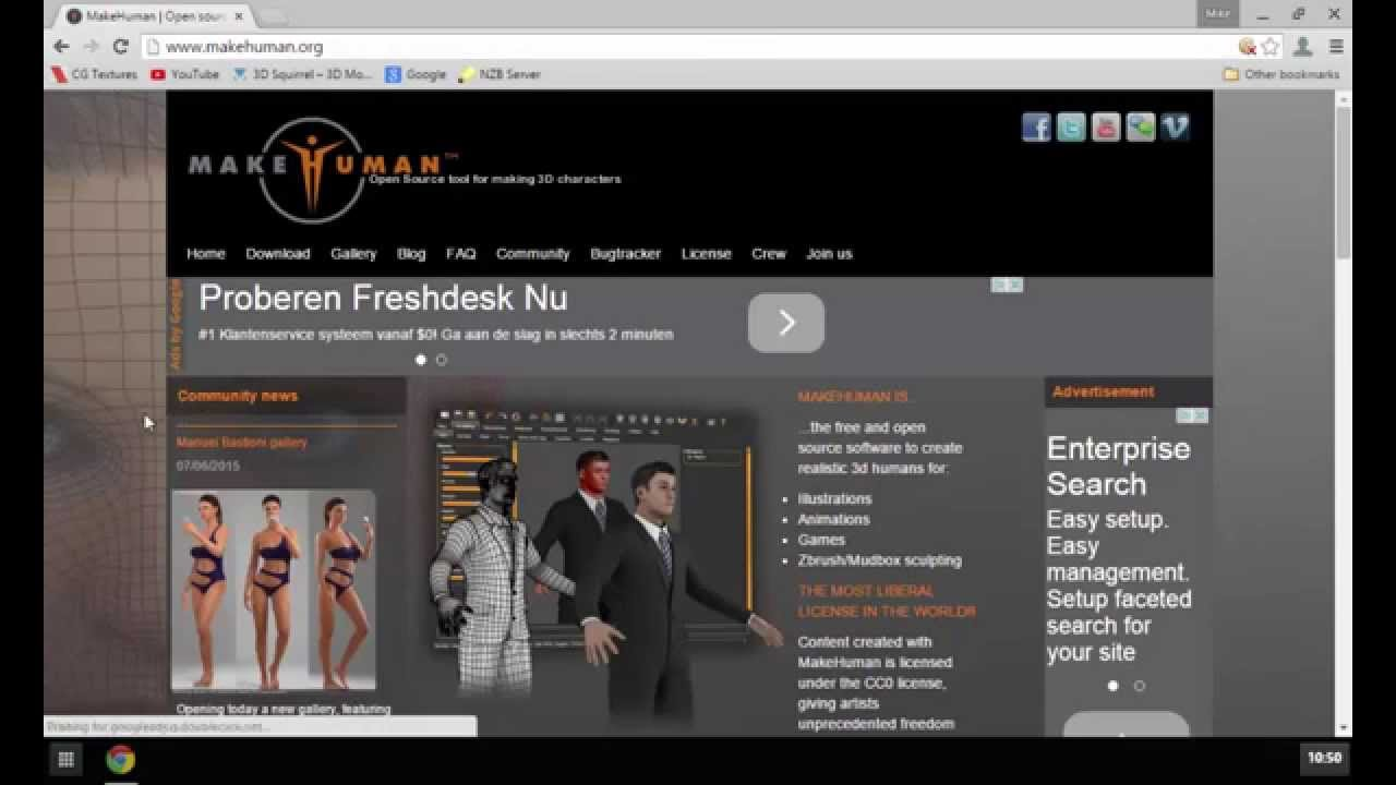 The makehuman project free 3d character creation 3d creator online free