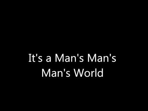 It's a man's world instrumental